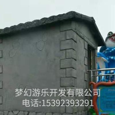 四川游乐园设备基础施工